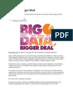 Big Data - Article
