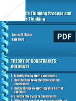 Goldratt's Thinking Proc