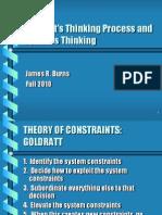 Goldratt's Thinking Proc