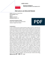 1 Estructura Juridica Del Estado