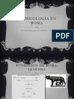 La Psicologia de Roma