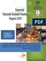 Manual Plan de Negocio
