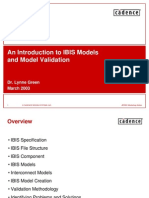 An Introduction to IBIS Models and Model Validation