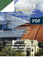 Berridge Product Catalog 2012