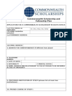 App Form 2013 South Africa