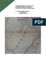 El Territorio Mapuche Del Lleu-Lleu y Las Comunidades de Choque