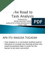 Task Analyses MOHD DAN