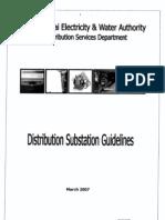 DEWA Distribution Substation Guidelines Mar 2007