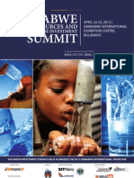 BROCHURE_Zimbabwe Water Resources Investment Summit 2013.pdf