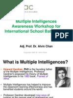 multiple intelligences awareness workshop for isb