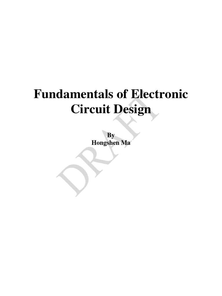 fundamentals of electronic circuit design electrical impedance pfundamentals of electronic circuit design electrical impedance p\u2013n junction