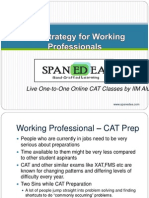 SpanEDea - Cat Strategy for Working Professional