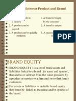 Brand Equity Model