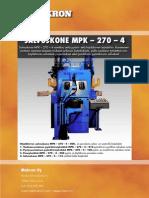 Salvoskone MPK-270-4