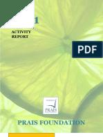 Activity Report 2011 - PRAIS Foundation - Updated _ En