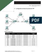 Lab-4.4.1-Configuration de Base VTP