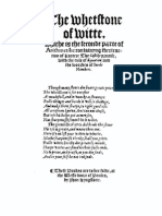 The Whetstone Of Witte