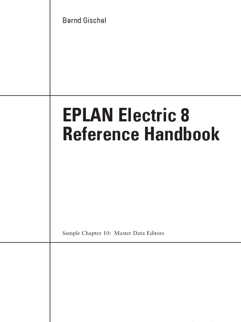 EPLAN Electric Reference Handbook Chapter 10