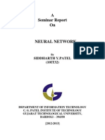 Neural Network Report