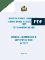 Guia Riego Mayor