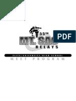 2013 Mt. SAC Relays Program