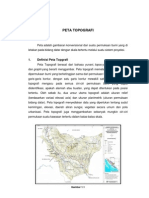 Resume Peta Topografi