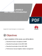 Huawei eRAN3.0 ANR Feature Introduction
