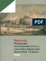 Sborník Národního památkového ústavu v Liberci