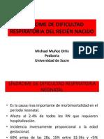 SÍNDROME DE DIFICULTAD RESPIRATORIA DEL RECIÉN NACIDO
