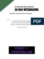 PJM 3106 Pemakanan Dan Metabolism