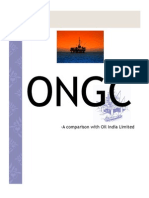 oil india ongc comparision