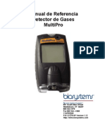 Manual Detector Gases Multipro