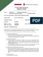 3SFE617 2011 Internet Application Design-Coursework2