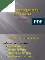 Kuliah Akbid - 3. Perkembangan Bayi Dan Balita (2003) - Copy