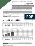 Matemática Ficha de sequências