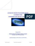 Siemens Automation Training Programme Report From 10.09.2012 to 22.09.2012