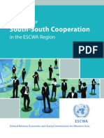 Prospects for South-South Cooperation in the ESCWA Region