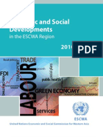 Survey of Economic and Social Developments in the ESCWA Region