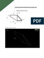 Bicycle Frame analysis