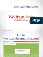 How to Use WolframAlpha
