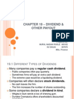 Chapter 19 - Dividend & Other Payout