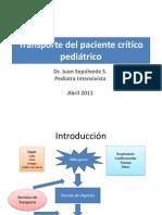 Transporte Del Paciente Pediatrico Critico