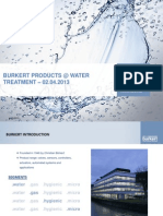 Burkert India -  Water Treatment .pdf