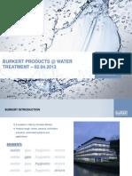 Burkert India -  Water Treatment .pdf