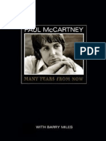 Paul McCartney (Many Years From Now) by Barry Miles