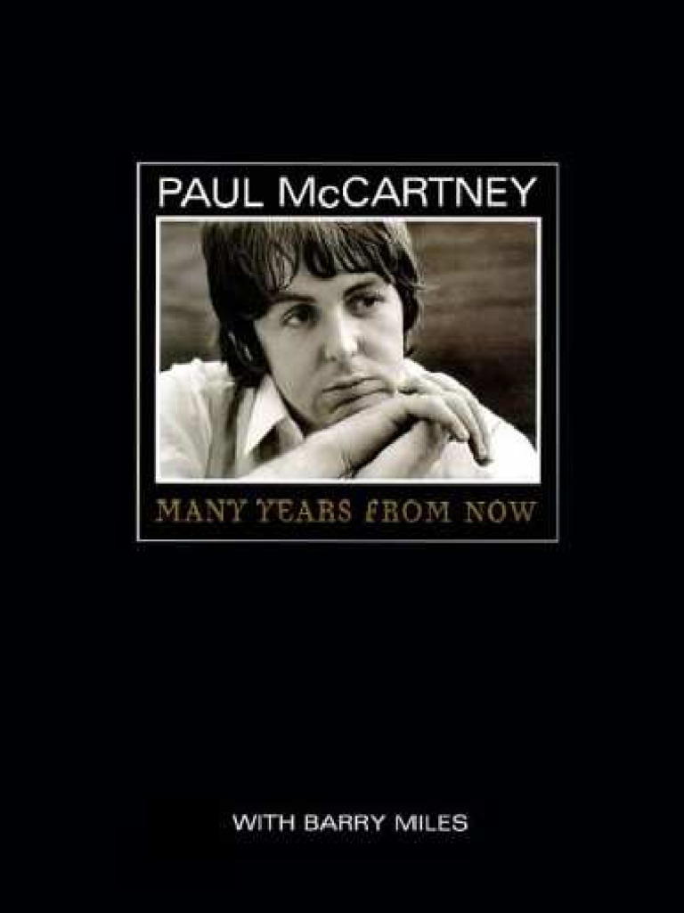 Paul McCartney Many Years From Now By Barry Miles
