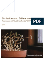 Similarities and Differences 2009 IFRS USGAAP[1]