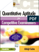Quantative Aptitude for Competitive Exam