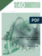 El Paisaje Como Archivo Del Territorio