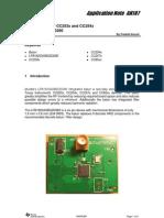 AN107 - Murata Balun for CC253x and CC254x, LFB182G45BG2D280 (Rev. a) - Swra380a